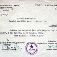 CO AFŽ-a Jugoslavije_materijal za Nedjelju Španije_izvještaj sa II Kogresa MDFŽ_06.04.1949_Beograd.pdf