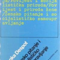 Zensko pitanje i socijalisticko samoupravl - Blazenka Despot.pdf
