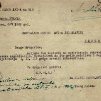 Glavni odbor AFŽa-BiH_Zapisnik sa savjetovanja rukovodioca reonskih odbora AFŽ-a grada Sarajeva_06.05.1949_Sarajevo.pdf