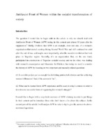 Antifascist Front of Women within the socialist transformation of society - Andrea Jovanović.pdf